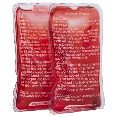 Emergency Zone Reusable Hand Warmer 2 Pack-4x6