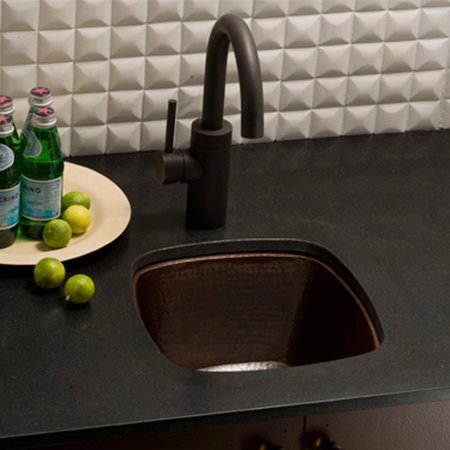 Native Trails Small Square CPS47 Undermount Bar Sink ()