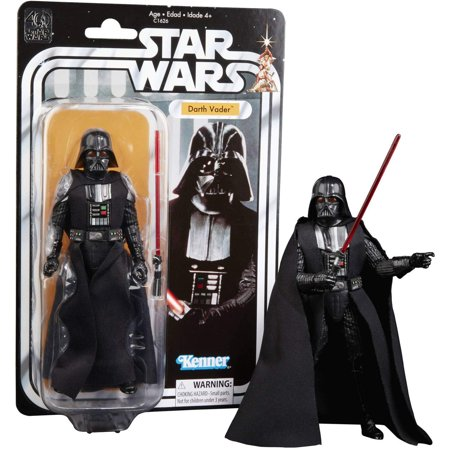Darth Vader Tie (Disney Star Wars Black Series 40th Anniversary Collection Darth Vader - 6 Inches Action)