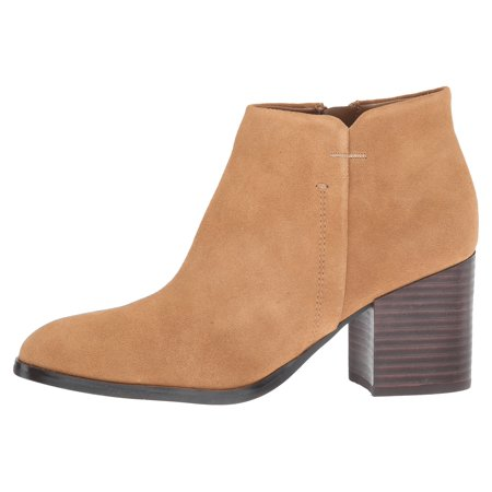 Womens Vandra Suede Almond Toe Ankle Fashion Boots