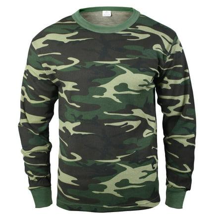 - Thermal Knit Shirt, Long Underwear Top