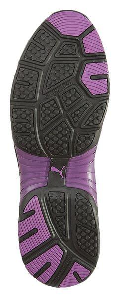 PUMA SAFETY SHOES 642885 Work Shoe, Stl, 6.5, BLK, PR 1