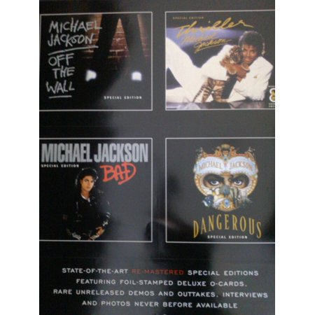 Michael Jackson Greatest Hits History Poster (Michael Jackson Greatest Hits Cd Track List)