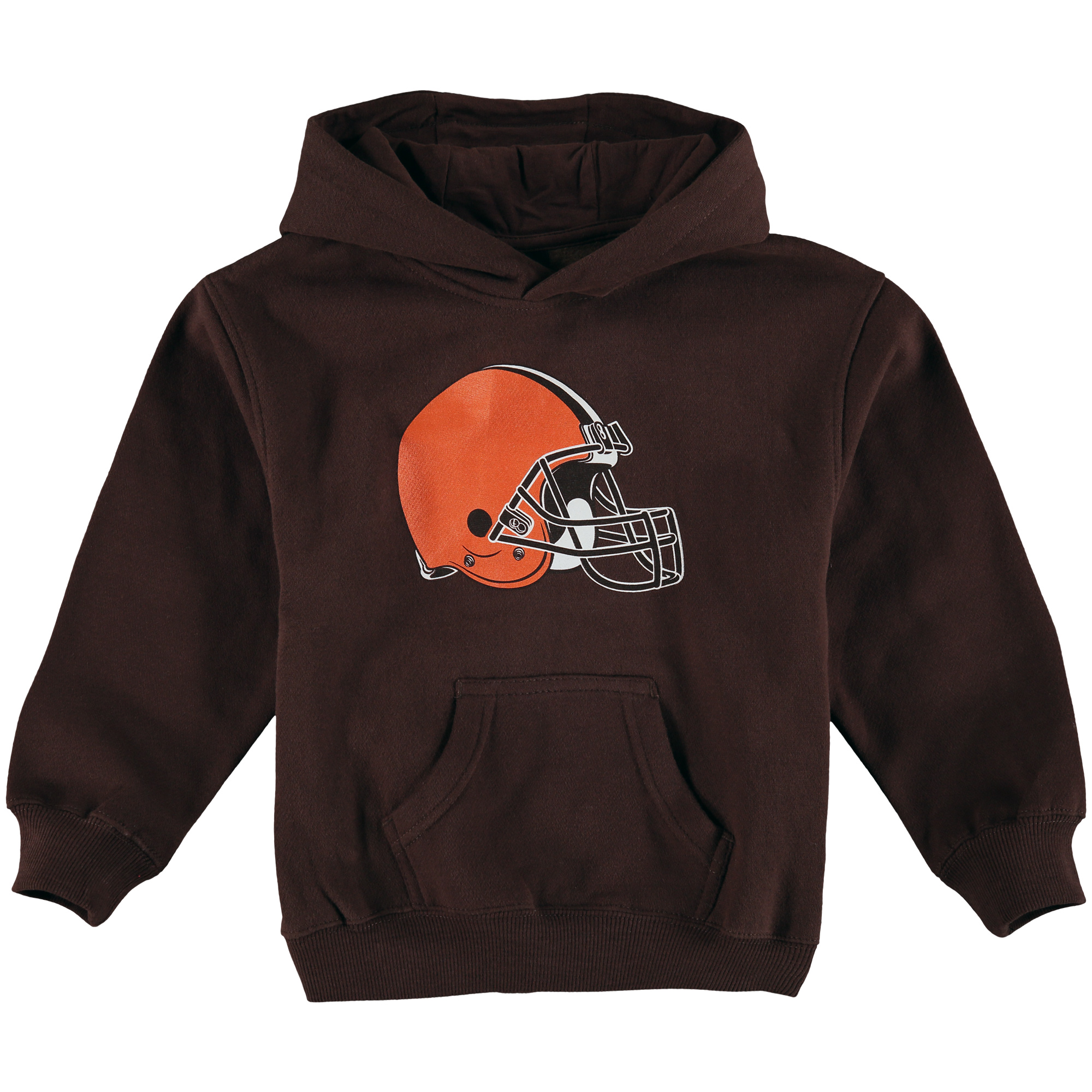 Cleveland Browns Preschool Team Logo Pullover Hoodie - Brown