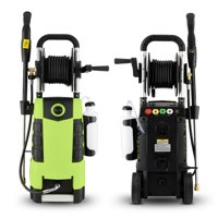 3800PSI Electric High Pressure Washer,2.8GPM 1800W High Power Cleaner Machine,5 Adjustable Nozzle Ne3M