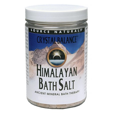 Crystal Balance Himalayan Bath Salt Source Naturals, Inc. 25 oz Bath Salt