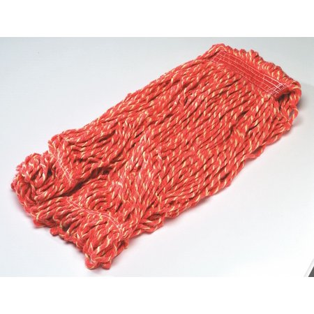 Side Gate Synthetic String Wet Mop Head, Red