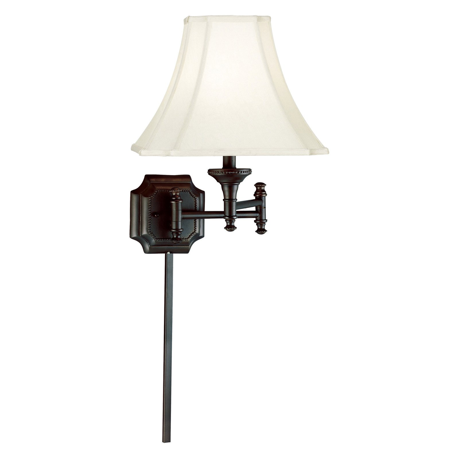 Kenroy Home Wentworth Wall Swing Arm Lamp 33054BBZ by Kenroy Home