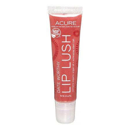 Image of Acure Lip Lush, Date Worthy, 0.5 Oz