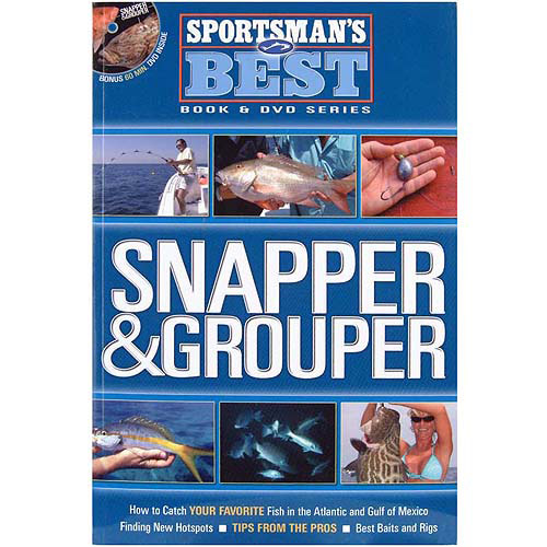 Sportsman's Best Snapper & Grouper Book & DVD Combo