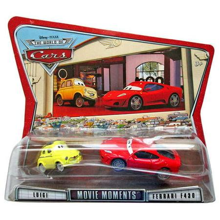 Disney Cars Movie Moments Luigi & Ferrari F430 Diecast Car 2-Pack