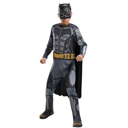 Justice League Boys Tactical Batman Costume (Batman Costume 5t)