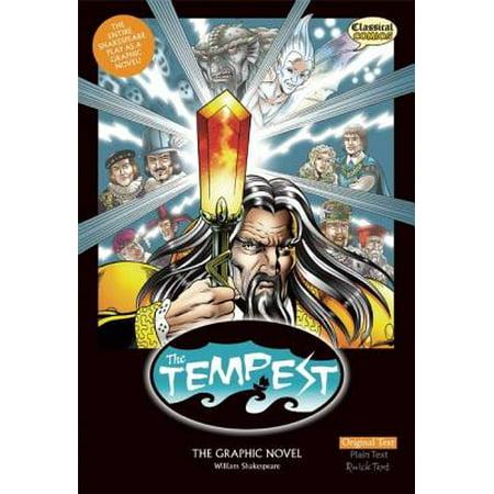 The Tempest the Graphic Novel : Original Text (10 Best Graphic Novels)