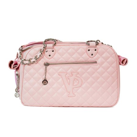 Vanderpump Pets Classic Quilted Luxury Pet Carrier (Quilted Carrier)