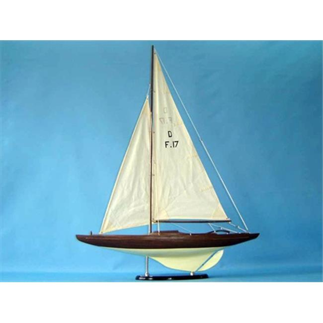 Handcrafted Model Ships Dragon 1 40 Classic Dragon Keelboat 40 in. Decorative Sail Boat by Handcrafted Model Ships