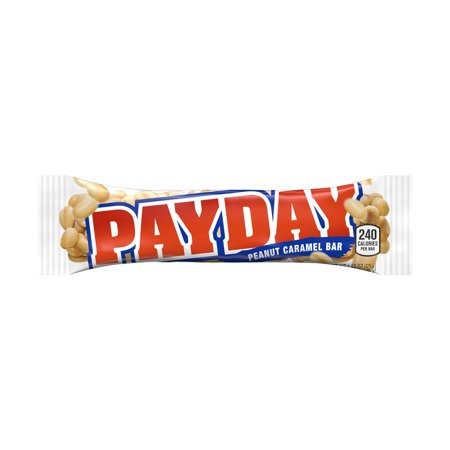 Payday, Peanut Caramel Candy Bar, 1.85 Oz (Pack of 24) - Homemade Candy Bar Halloween Costumes