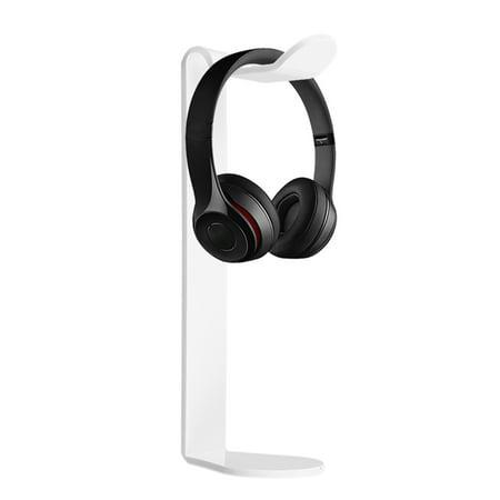Acrylic Earphone Headset Hanger Holder Headphone Fashion Desk Display Stand