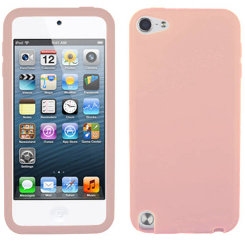 Apple iPod touch 5 MyBat Solid Skin Cover, Pink