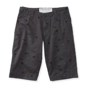 Aeropostale Mens Shark And Palm Casual Walking Shorts