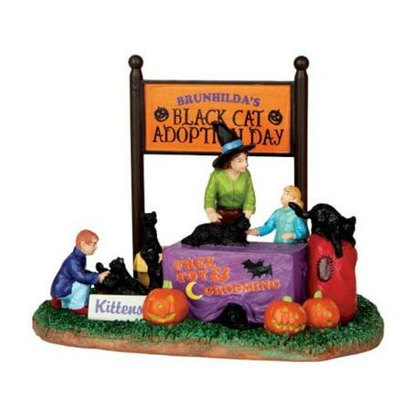 Lemax Spooky Town Black Cat Adoption # - Adoption Party