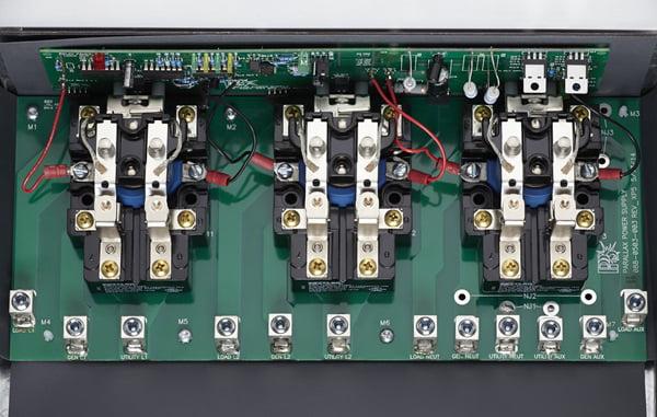 Parallax Power Supply ATS503 120//240V 50 Amp Transfer Switch