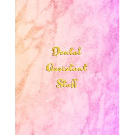 Dental Assistant Stuff: 2020 planner from January to December - With monthly calendar section and weekly schedule / To do List Paperback (Dental Schedule Book)