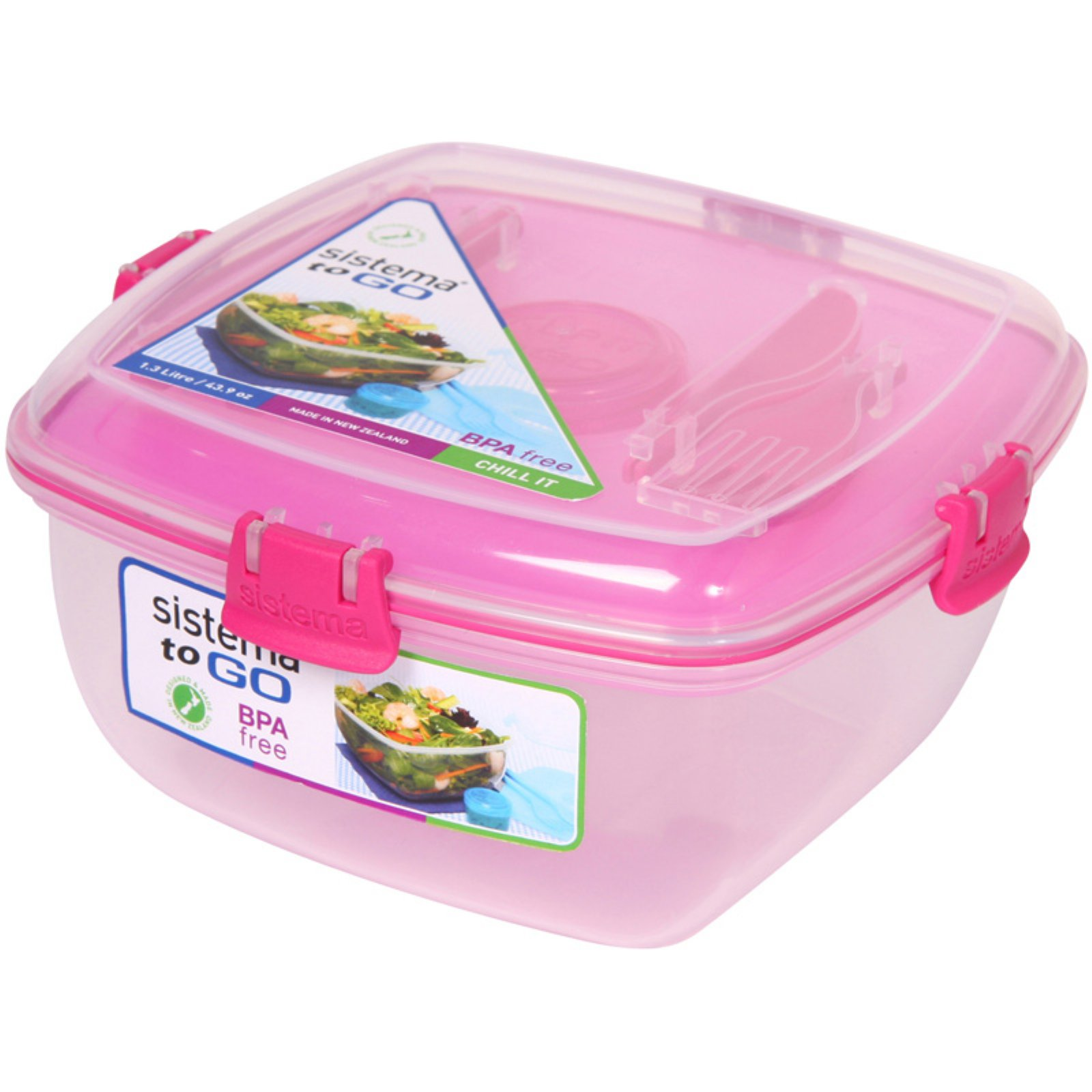 Sistema US Klip It Lunch Plus To Go Container