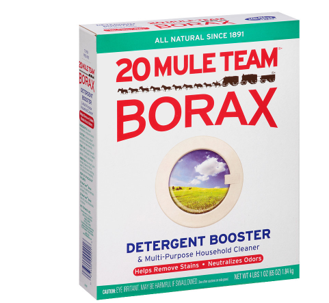 20 Mule Team Borax Natural Laundry Booster & Multi-Purpose Household Cleaner 76.0 oz.(pack of 12)