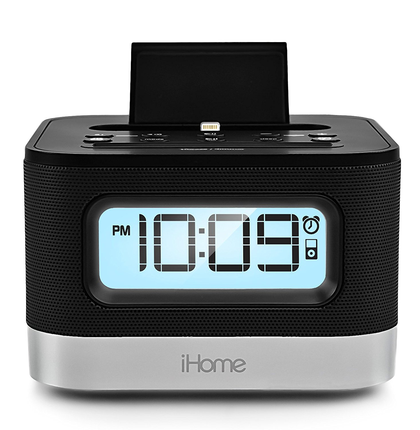 ihome for iphone 5 refurbished ihome ipl10 dual charging stereo fm clock 4486