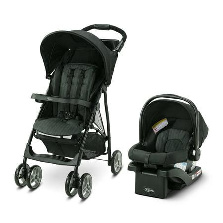 Graco LiteRider LX Travel System, with SnugRide 30 Infant Car Seat, Jaxon
