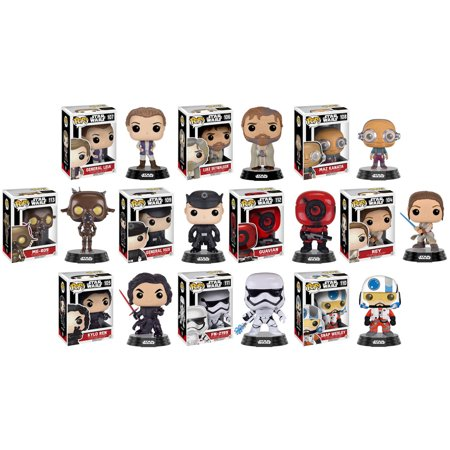 Funko POP! Star Wars The Force Awakens - Vinyl Bobbles - Series 3 - SET OF