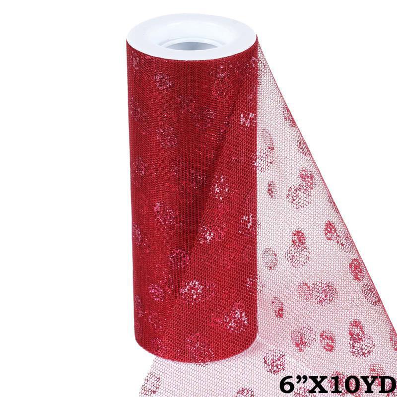 Tulle Roll Spool Fabric Tutu Wedding Dress Bow DIY Banquet Decor Multicolor 10yd