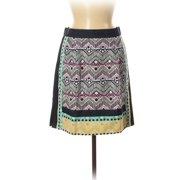 Pre-Owned Nanette Lepore Women's Size 6 Silk Skirt