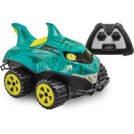 - Kid Galaxy - Mega Morphibian Shark Radio Control Vehicle - 2.4GHZ
