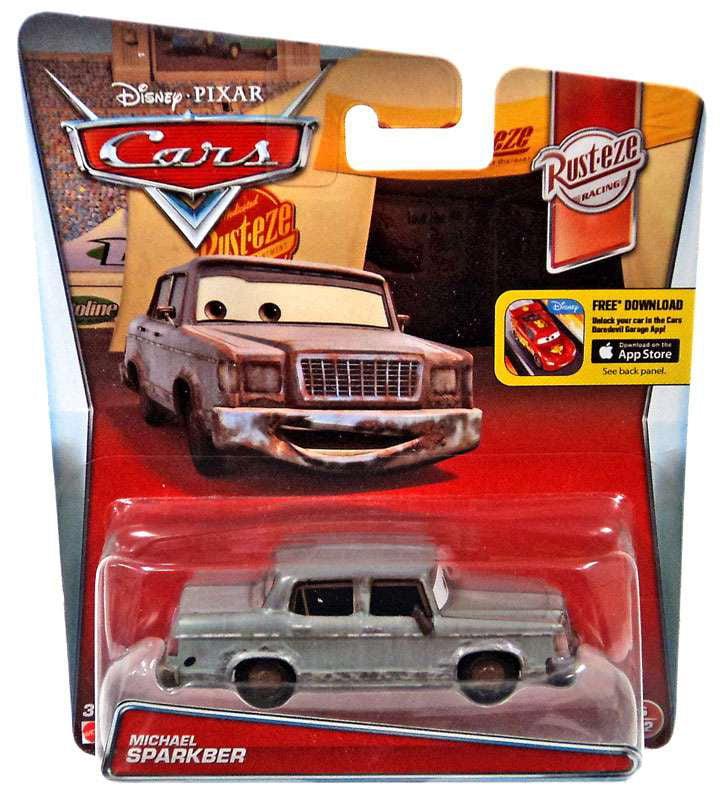 Disney Cars Die-Cast Figure, Rusteze Fan