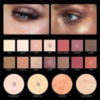 Tuscom FOCALLURE 18 Colors Pearlized Color Eyeshadow Powder Eye Shadow Palette Set