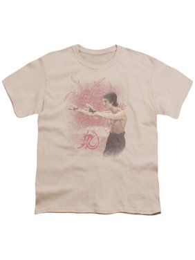 Bruce Lee - Power Of The Dragon - Youth Short Sleeve Shirt - X-Large
