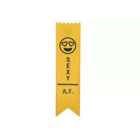 Adulting FTW Sexy A.F. Adulting Award Ribbon on Gift Card](Shipping Coupons)