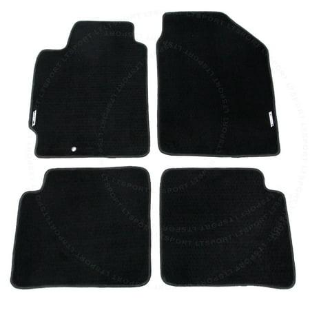 Fit 02-06 ALTIMA 4DOOR SEDAN Custom Premium Nylon Black Floor Mats Carpet For 2002 2003 2004 2005 2006 02 03 04 05 06 NI (2006 Nissan Altima Floor Mats Oem)