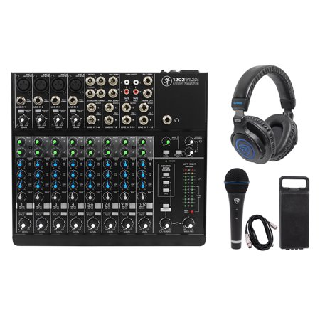 Mackie 1202VLZ4 12-channel Compact Analog Mixer w/4 ONYX