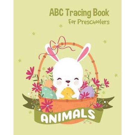 Animals ABC Tracing Book For Preschoolers: Toddlers And Kids. Coloring And Letter Tracing Book, Practice For Kids, Ages 3-5, Alphabet Writing Practic (Animals That Start With The Letter V)