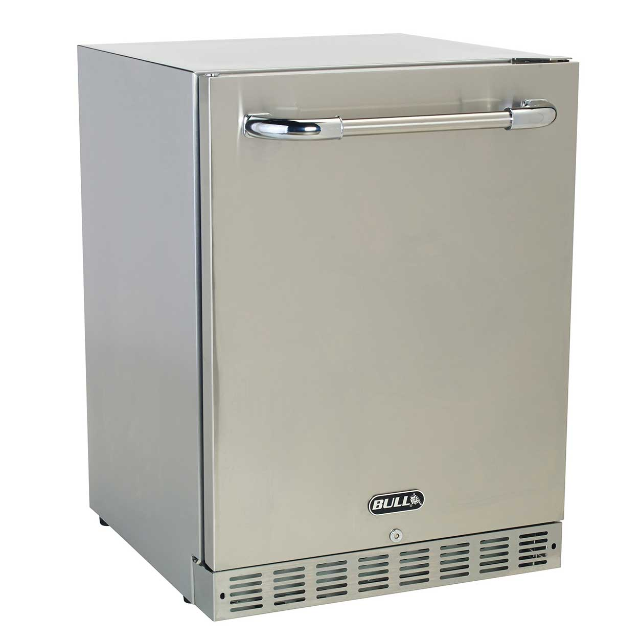 Bull Premium Stainless Steel Outdoor Rated 24 Inch Kitchen Refrigerator  Fridge