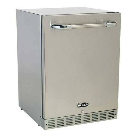 Bull Premium Stainless Steel Outdoor Rated 24 Inch Kitchen Refrigerator