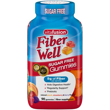 Vitafusion Fiber Well Gummy Vitamins, 90