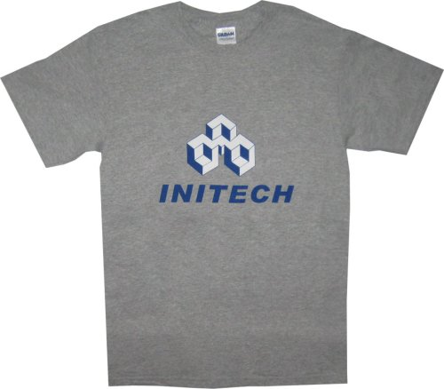 office space software. Office Space Initech Software Company Logo Gray T-Shirt Office Space Software