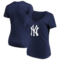 65491ce7d42 Product Image Women s Majestic Navy New York Yankees Top Ranking V-Neck T- Shirt