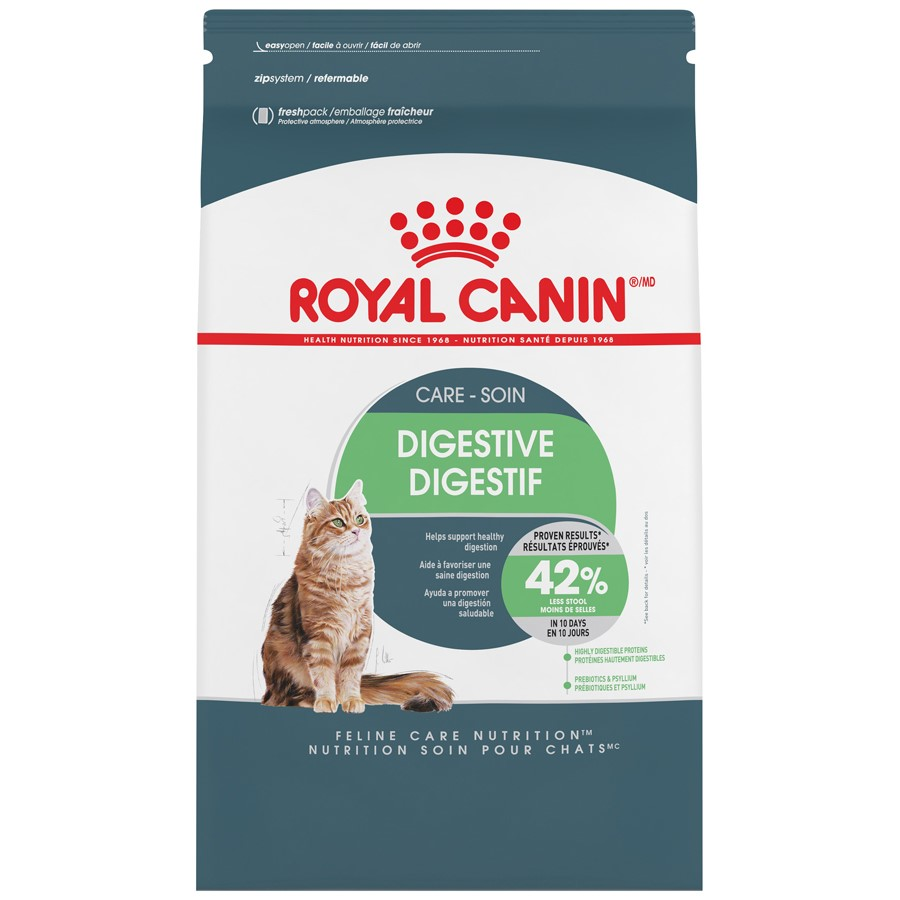 Royal Canin Feline Care Nutrition Digestive Care Dry Cat Food, 6 lb