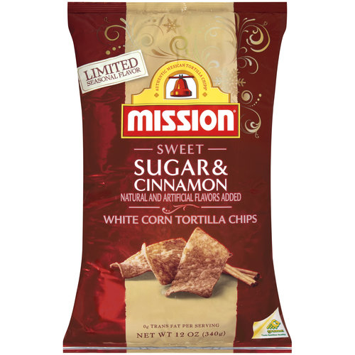 Mission Sweet Sugar&cinnamon Tort Chips