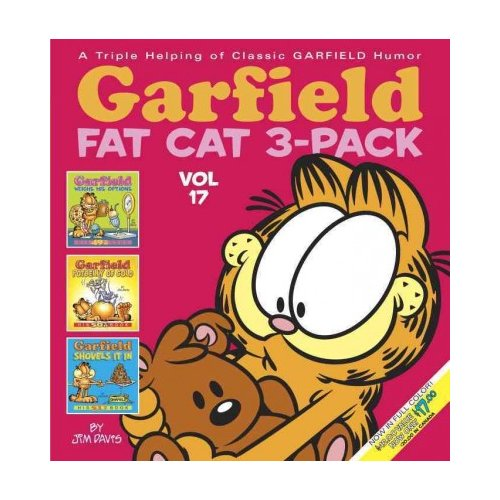 Garfield Fat Cat 3-Pack 17: Garfield Weighs His Options, Garfield Potgelly of Gold, Garfield Shovels It in