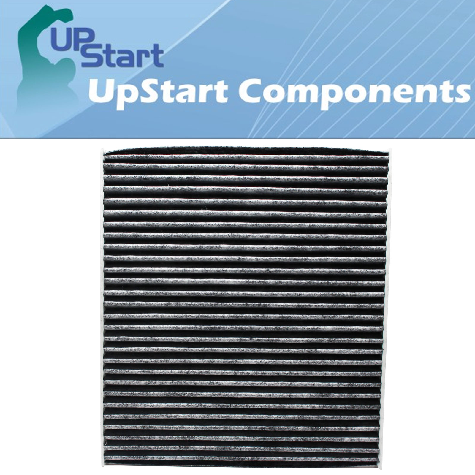 2-Pack Replacement Cabin Air Filter for 2013 Hyundai ACCENT L4 1.6L 1591cc 97 CID Car/Automotive - Activated Carbon, ACF-10709